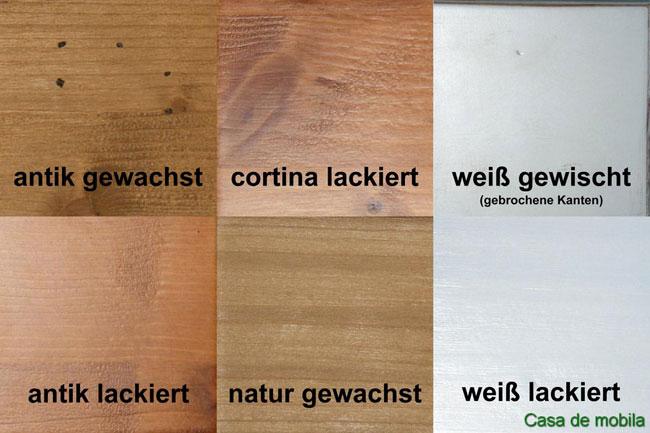 Fabmustertafel für Möbel von Gradel