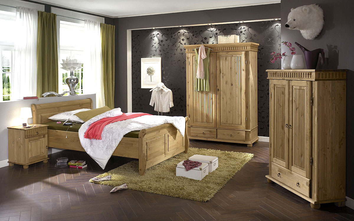 landhaus m bel wohnzimmer kiefer natur. Black Bedroom Furniture Sets. Home Design Ideas