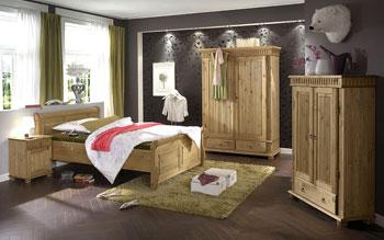 Kiefer Möbel Schlafzimmer - massiv natur