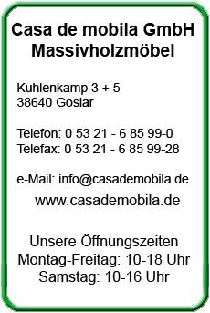 Massivholz Möbel Goslar