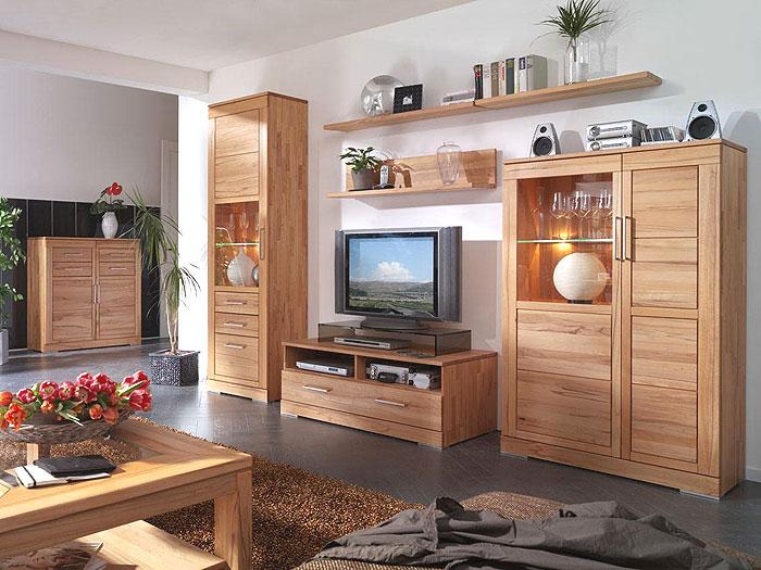 wohnzimmer massivholz komplett - massivholz-möbel in goslar, Wohnzimmer