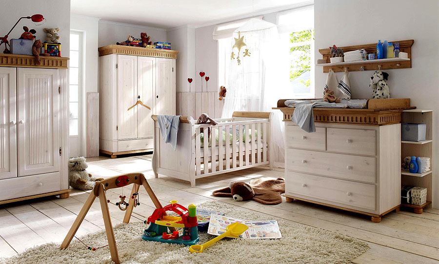 massivholzm bel babyzimmer weiss gelaugt kiefer massiv. Black Bedroom Furniture Sets. Home Design Ideas
