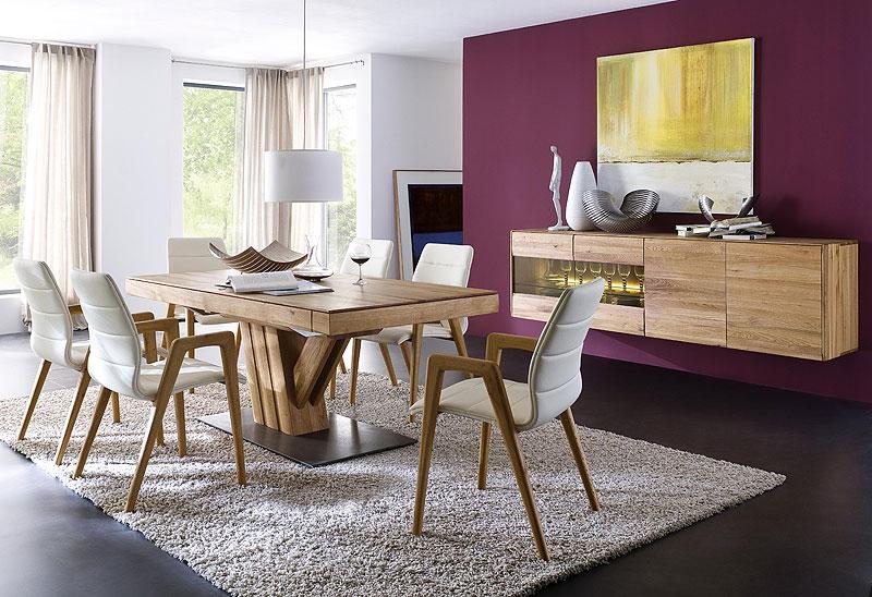Massivholzmöbel - neues Esszimmermöbel Programm - auf Anfrage - massiv Holz