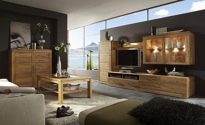 tv moebel wohnwand kernbuche massiv casera wohnzimmer wimmer wohnkollektion