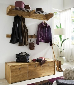 garderobe camilla wildeiche massiv holz skandinavische. Black Bedroom Furniture Sets. Home Design Ideas