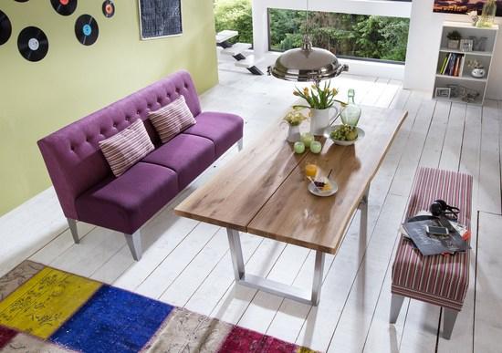 Barnickel kuechensofa modern cadiz massivholz mobel in for Küchensofa modern