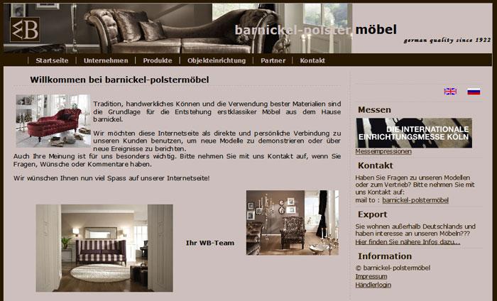 Barnickel Polstermöbelmanufaktur - Massivholz-Möbel in Goslar ...