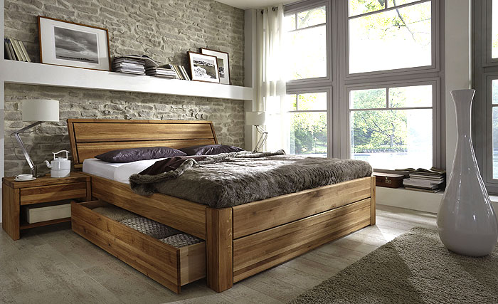 bett 200x200 mit schubladen massivholz bett mit. Black Bedroom Furniture Sets. Home Design Ideas