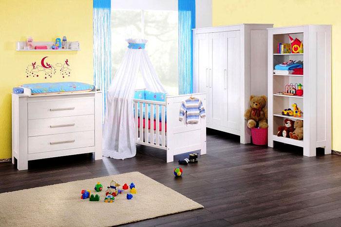 Kinderzimmermöbel set weiß  Emma Babyzimmer weiß - Massivholz-Möbel in Goslar Massivholz-Möbel ...