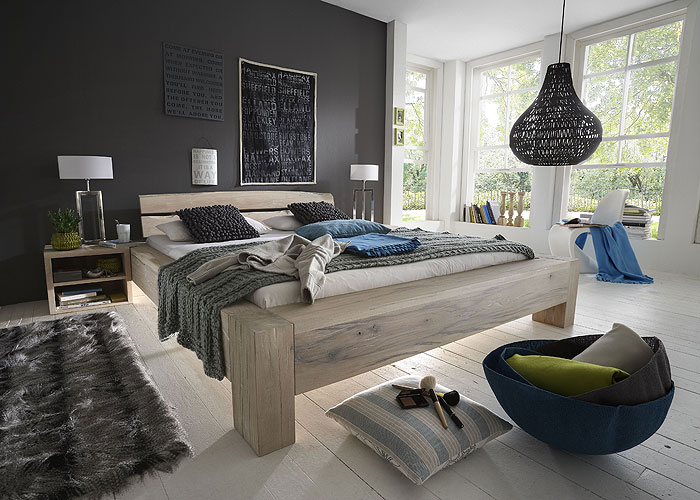 balkenbett aus balkeneiche sumpfeiche ein unikat der natur massivholz m bel in goslar. Black Bedroom Furniture Sets. Home Design Ideas
