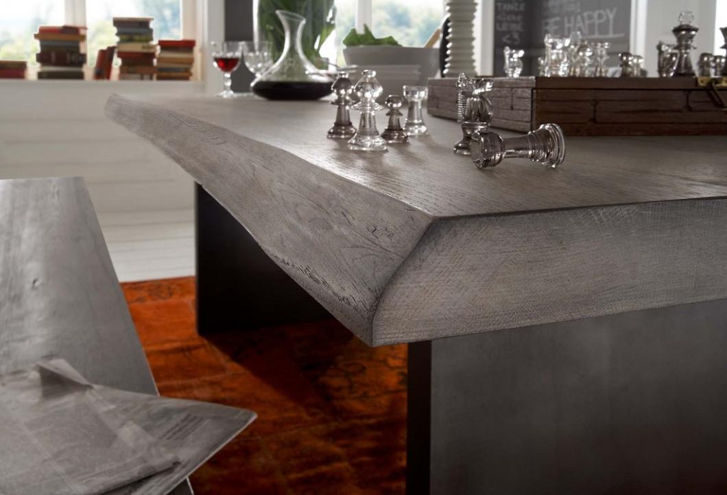 echtholz esstisch mit baumkante wildeiche ice grey w2 massivholz m bel in goslar massivholz. Black Bedroom Furniture Sets. Home Design Ideas