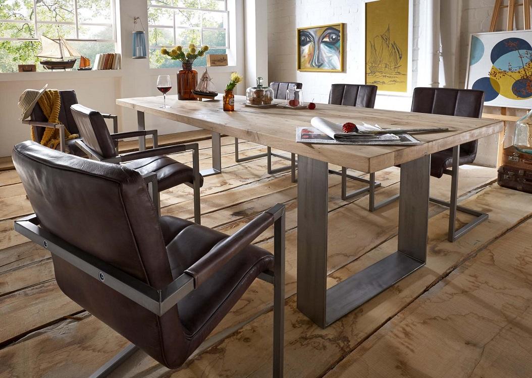 echtholz esstische alteiche ge lt massivholz m bel in goslar massivholz m bel in goslar. Black Bedroom Furniture Sets. Home Design Ideas