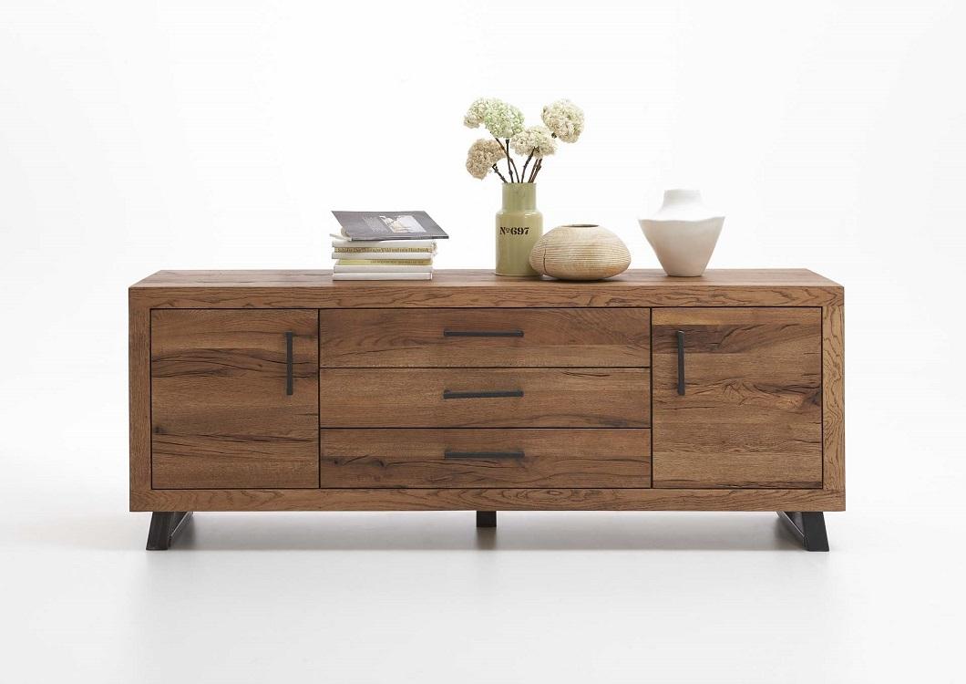 echtholz sideboard eiche old bassano sq5 massivholz. Black Bedroom Furniture Sets. Home Design Ideas
