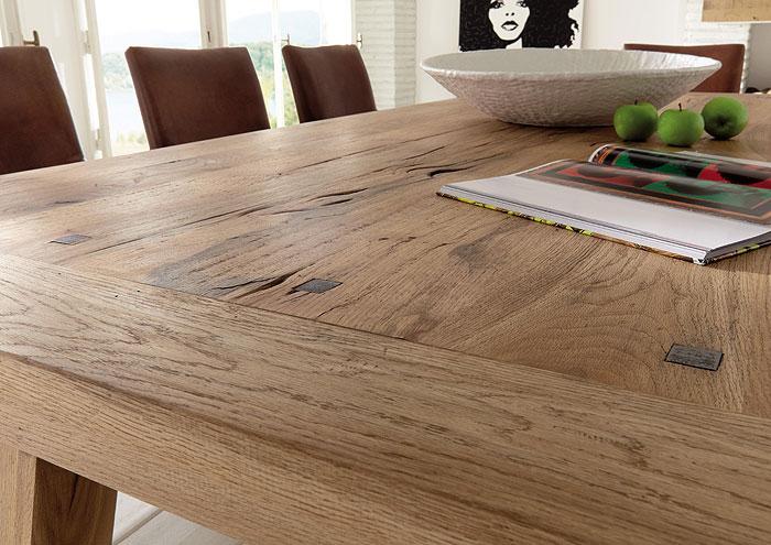 Konferenztisch Eiche massiv Holz - Firenze Bodahl Möbler