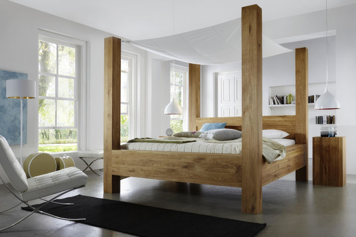 himmelbett wildeiche massiv grande bodahl m beler massivholz m bel in goslar massivholz m bel. Black Bedroom Furniture Sets. Home Design Ideas