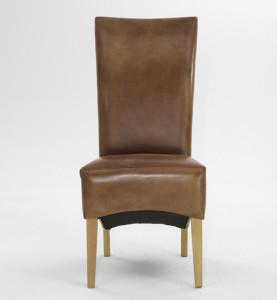 Esstisch Stuhl Leder Braun
