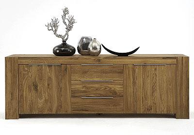 Sideboard Wildeiche massiv Holz Grand Bodahl Moebler