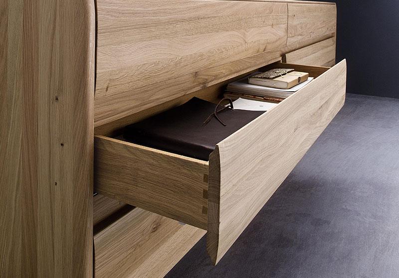 Sideboard Nyon Kernbuche massiv Holz geölt Wimmer Wohnkollektion