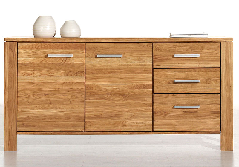 sideboard odeus wildeiche massiv holz ge lt wimmer. Black Bedroom Furniture Sets. Home Design Ideas