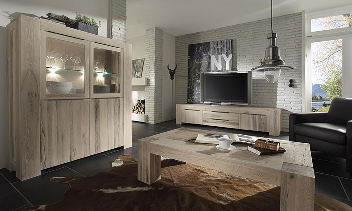 wohnzimmer eiche massivholz weiss ge lt m bel bigfoot bodahl. Black Bedroom Furniture Sets. Home Design Ideas