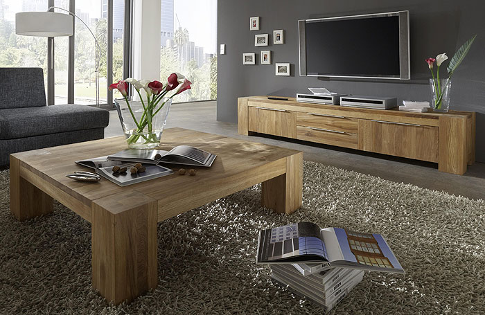 wohnzimmer mobel holz. Black Bedroom Furniture Sets. Home Design Ideas