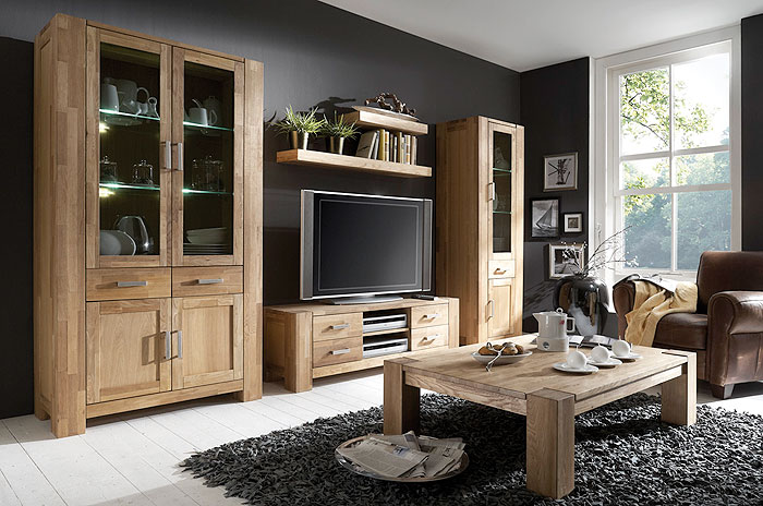 massive wohnzimmerm bel m belideen. Black Bedroom Furniture Sets. Home Design Ideas