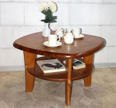 couchtisch beistelltisch aus massivholz eckig oder oval. Black Bedroom Furniture Sets. Home Design Ideas