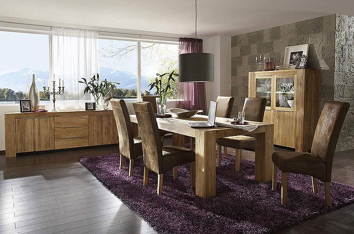 esszimmer wildeiche massiv holz ge lt balder massivholz m bel in goslar massivholz m bel in. Black Bedroom Furniture Sets. Home Design Ideas