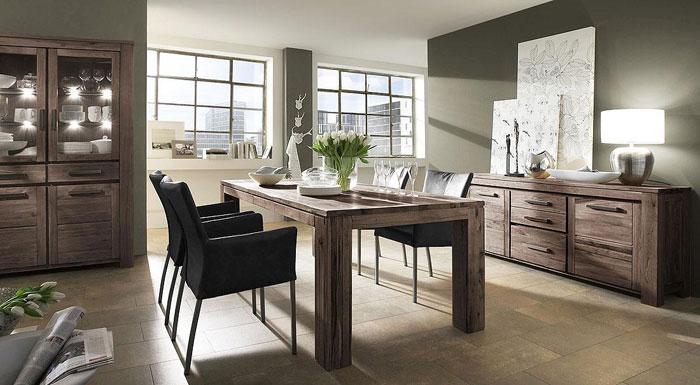 wohnzimmerm bel aus holz m belideen. Black Bedroom Furniture Sets. Home Design Ideas