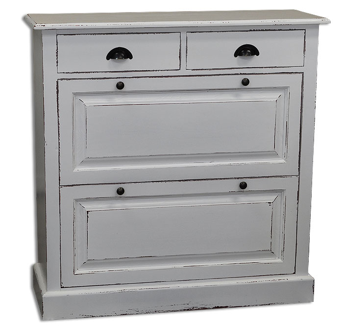 schuhkipper fichte massiv holz grau weiss shabby massivholz m bel in goslar massivholz m bel. Black Bedroom Furniture Sets. Home Design Ideas