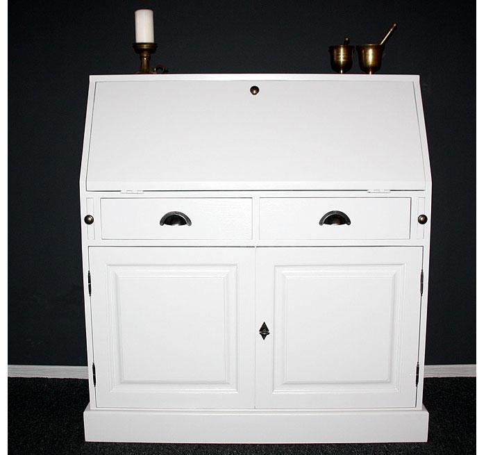 sekret r weiss lackiert fichte massiv holz massivholz. Black Bedroom Furniture Sets. Home Design Ideas