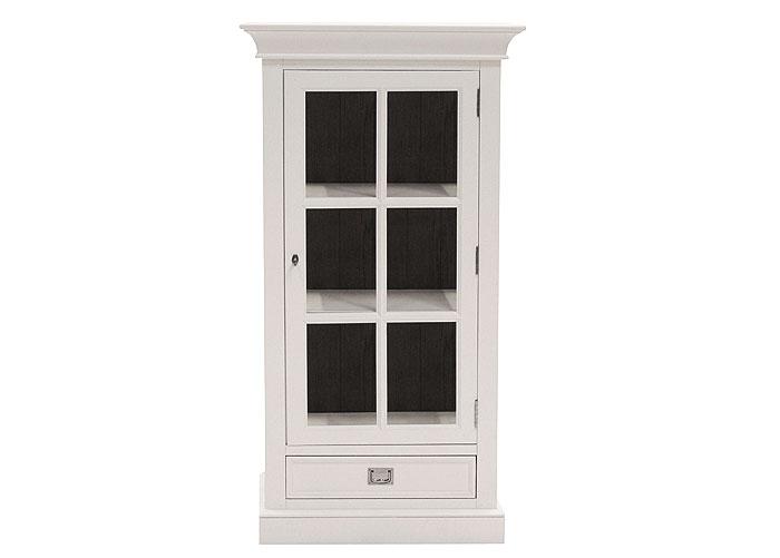 vitrinenschrank wildeiche massiv holz r ucher l finish weiss lackiert massivholz m bel in. Black Bedroom Furniture Sets. Home Design Ideas