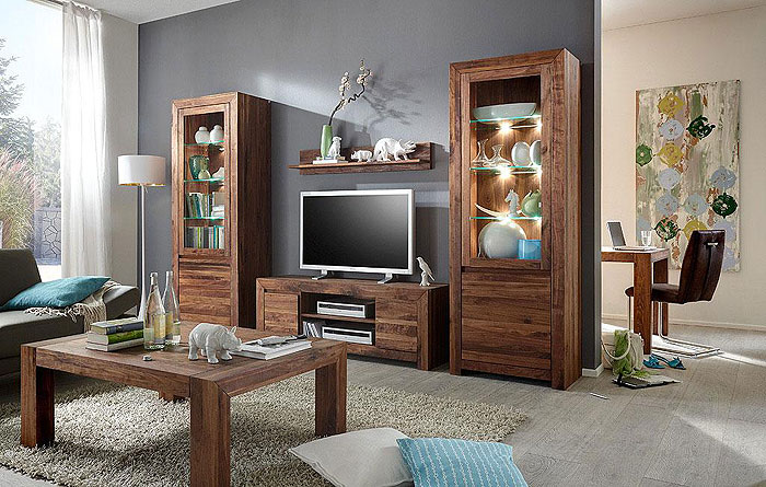 wohnwand nussbaum massiv holz ge lt massivholz m bel in goslar massivholz m bel in goslar. Black Bedroom Furniture Sets. Home Design Ideas