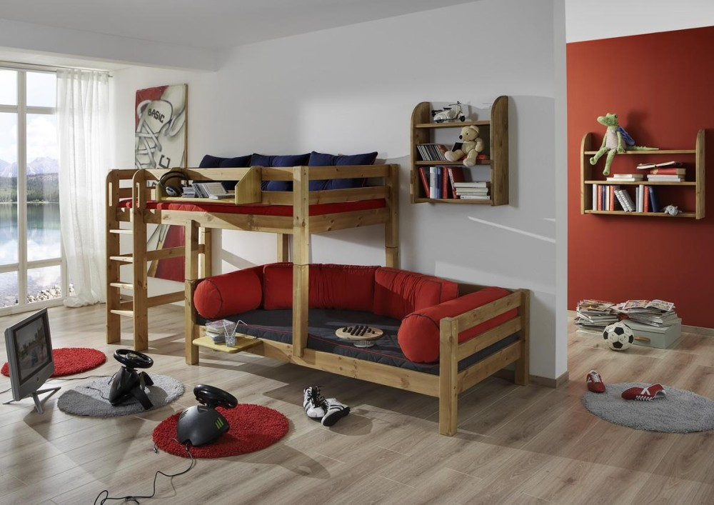 hochbett kiefer geoelt massivholz m bel in goslar massivholz m bel in goslar. Black Bedroom Furniture Sets. Home Design Ideas