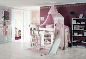Himmelbett Prinzessin pink