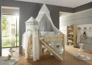 Himmelbett Kinderzimmer Fantasy