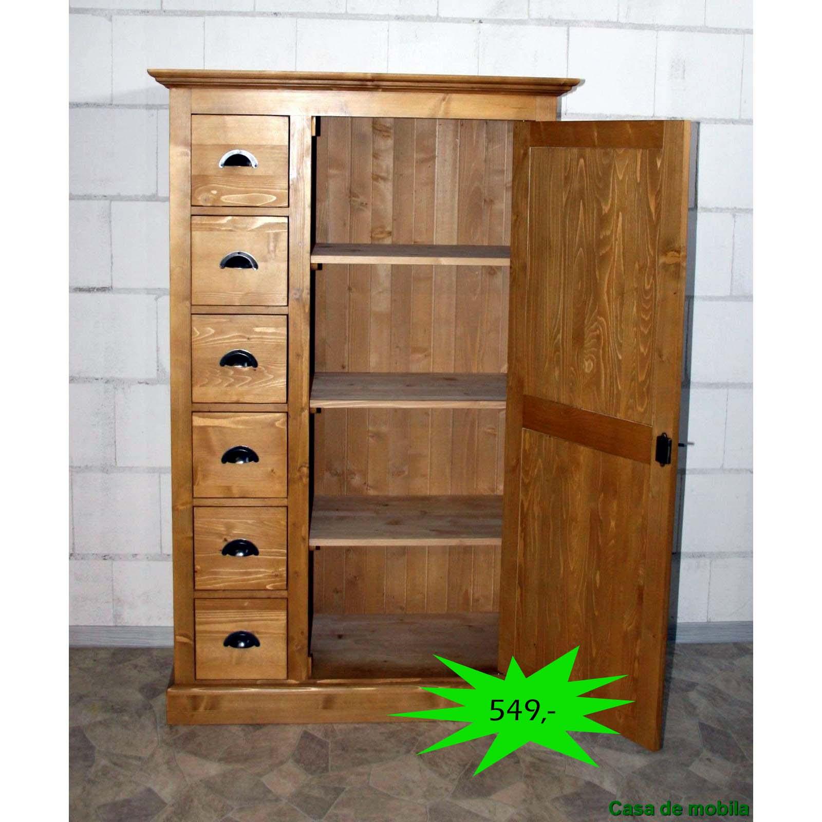 mehrzweckschrank fichte massiv antik retro ps41 p002 massivholz m bel in goslar massivholz. Black Bedroom Furniture Sets. Home Design Ideas