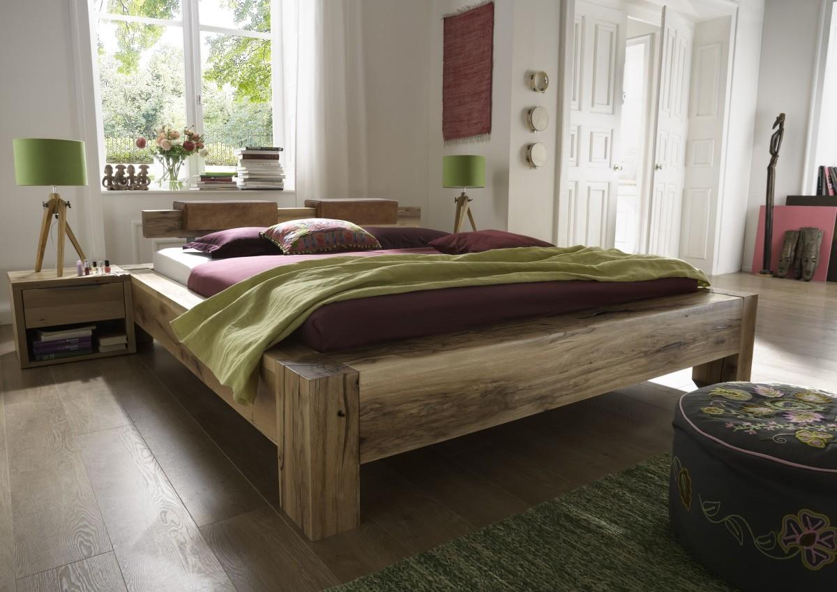 Bett 200x220 komforthhe awesome hasena oak wild wildeiche for Bett 200x220