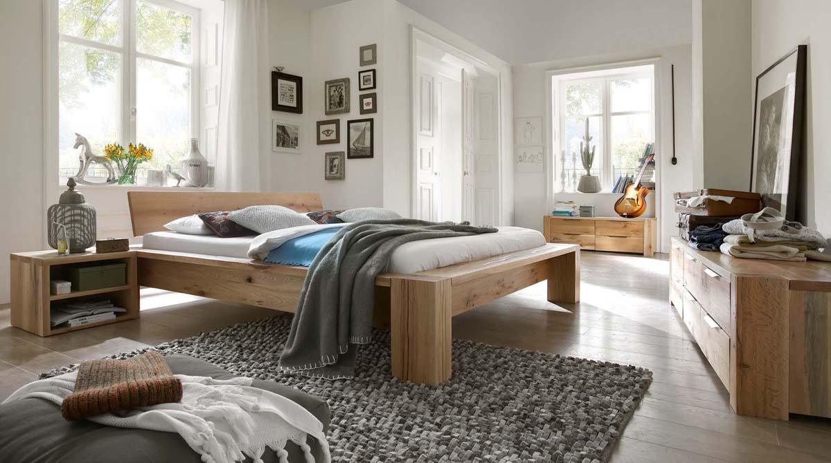 Echtholz Unikat Schlafzimmer