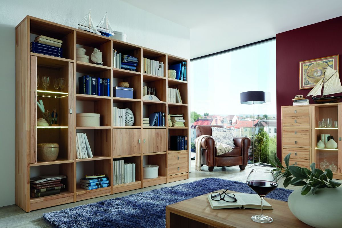 buecherregal mixit kernbuche massivholz m bel in goslar massivholz m bel in goslar. Black Bedroom Furniture Sets. Home Design Ideas