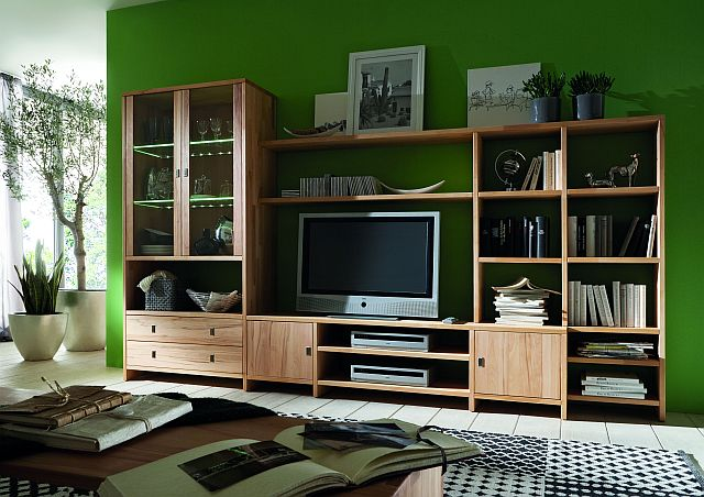 fernsehwand massivholz vitrine wohnzimmer echtholz kernbuche mix it massivholz m bel in goslar. Black Bedroom Furniture Sets. Home Design Ideas