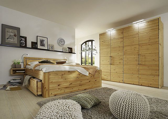 massivholz schlafzimmer komplett kiefer massiv
