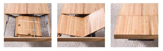 Massivholztisch ausziehbar asteiche massivholz m bel in for Massivholztisch ausziehbar