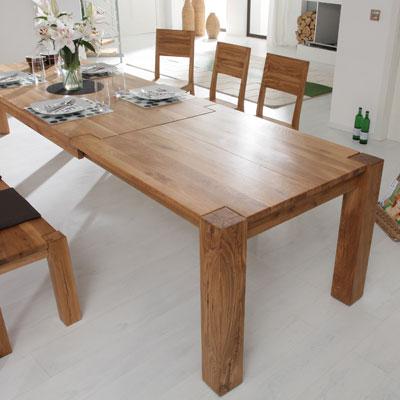 massivholztisch ausziehbar massivholz m bel in goslar. Black Bedroom Furniture Sets. Home Design Ideas