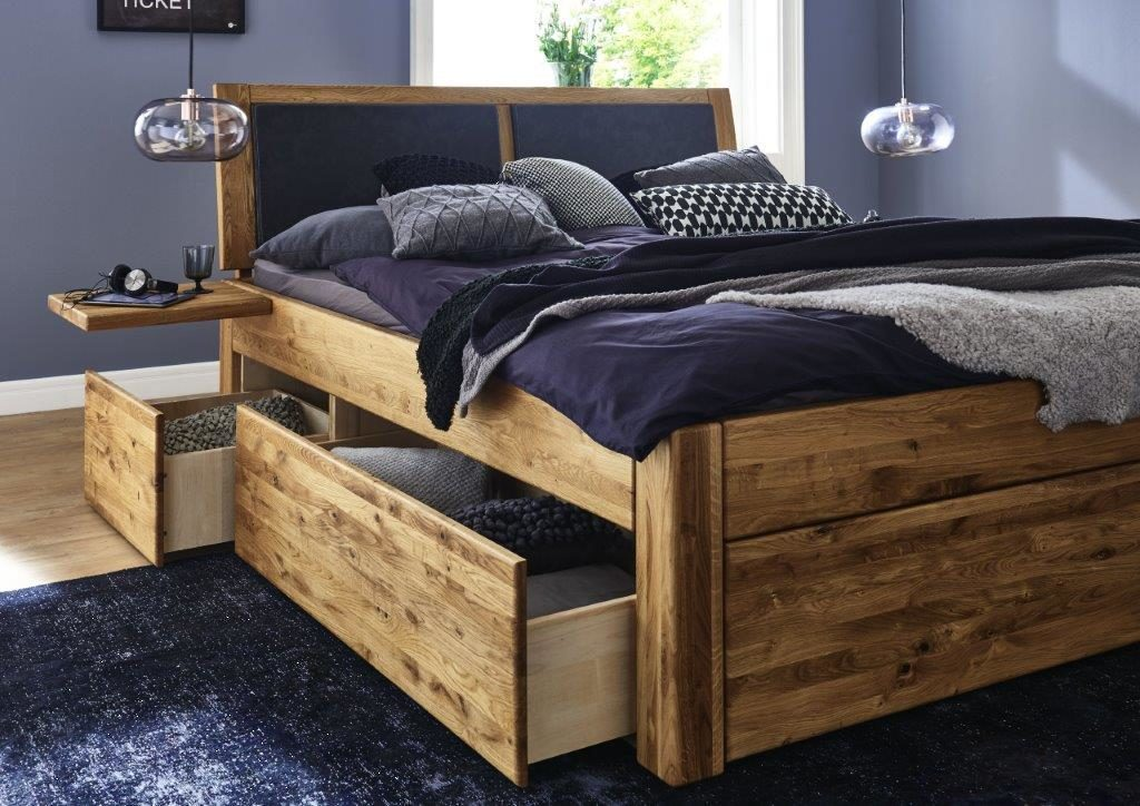 bett mit schubladen massivholz m bel in goslar massivholz m bel in goslar. Black Bedroom Furniture Sets. Home Design Ideas
