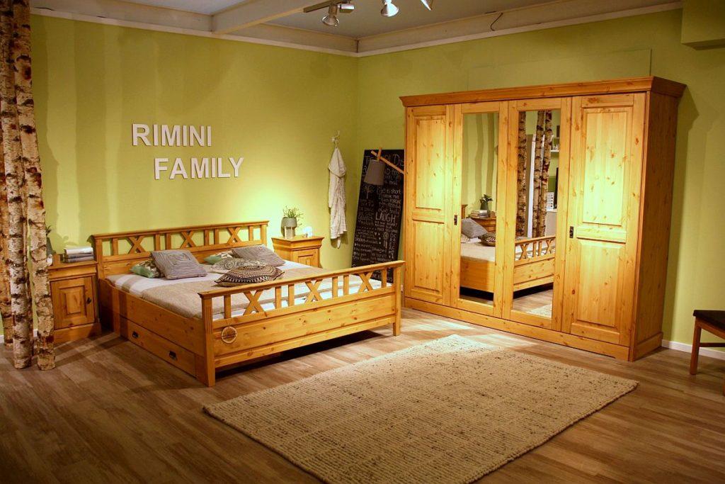 massive schlafzimmermoebel aus kiefernholz rimini