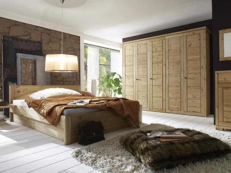 massivholz schlafzimmermoebel in kiefer massiv natuerlich geoelt
