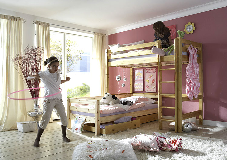 Kinder Zimmer Hochbett