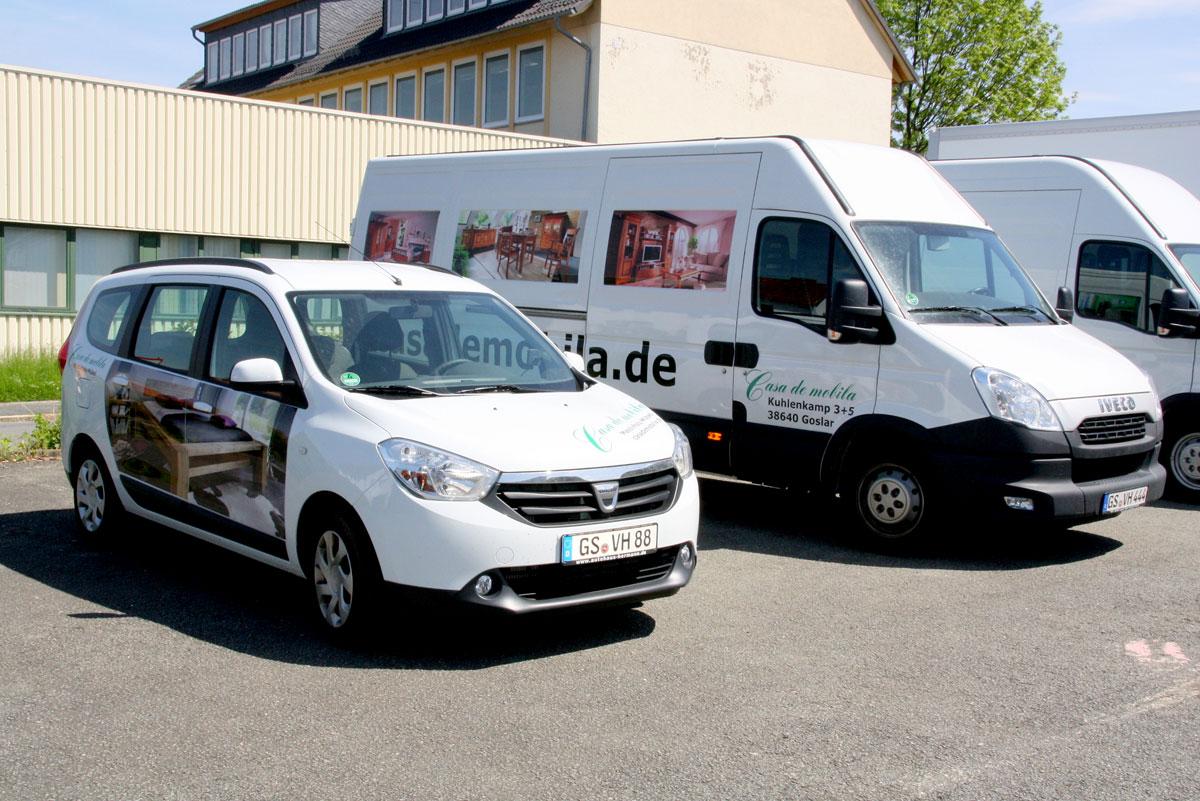 Möbel Liferservice aus Goslar - Anlieferung vom Fachpersonal