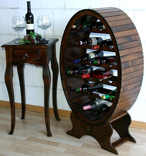 Arte Provera - Weinfass und Beistelltisch für die Weingläser - Gosalr Braunschweig